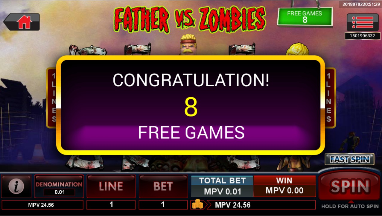 Father vs Zombies